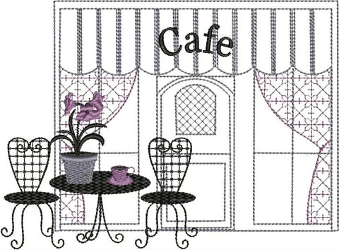 Paris Cafe Single