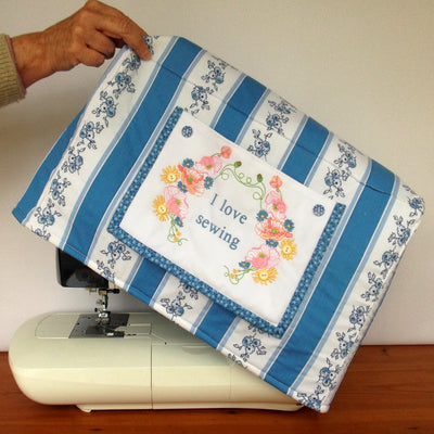 Poppies Sewing Machine Cover