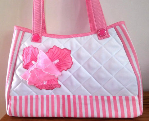 Vintage Pretty In Pink Handbag