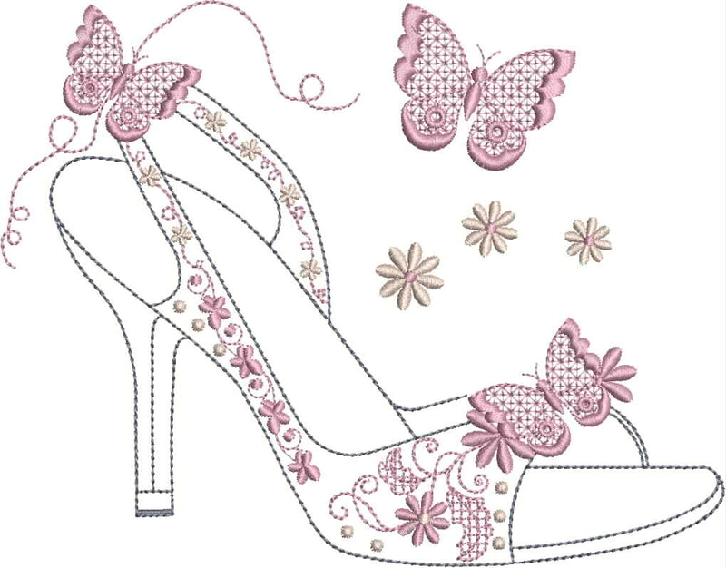 Ooh La La Shoe set 4 x 4