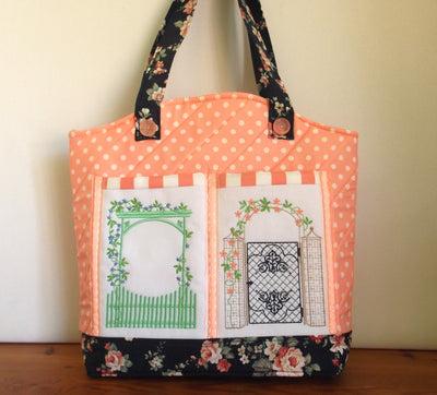 Decorative Gates Sewing Carryall