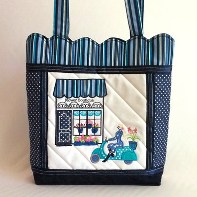 Flower Boutique Tote