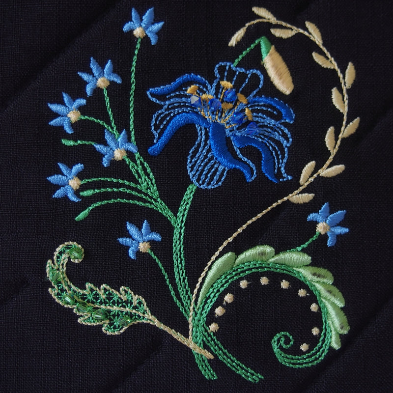 Royal Blue Lily Single