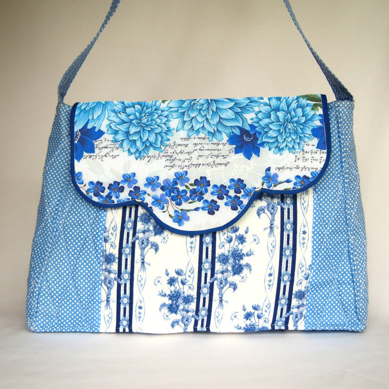 Sewing Pattern Only - Spring Floral Handbag