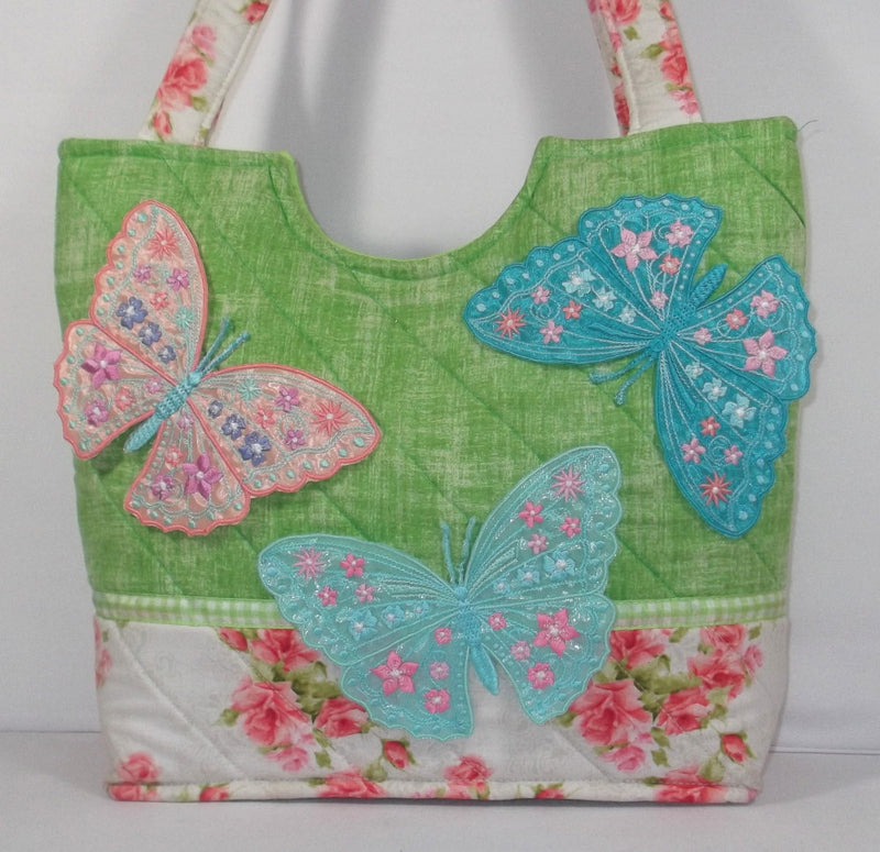 Spring Butterfly Tote