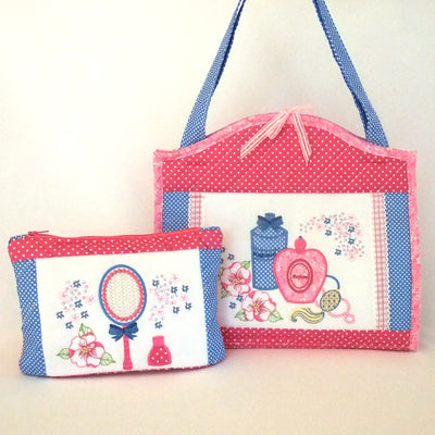 Pretty Cosmetic Bag and Pouch