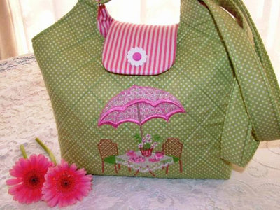 Tea in the Garden Handbag