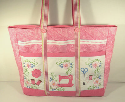 Romantic Roses Sewing Caddy
