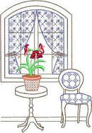 Vintage Country Windows Set