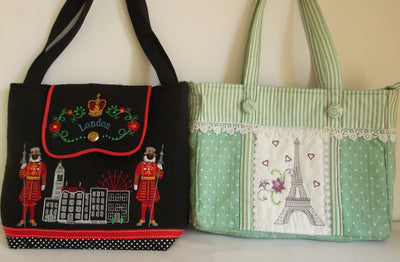 BUNDLE London Handbag and Shabby Chic Tote