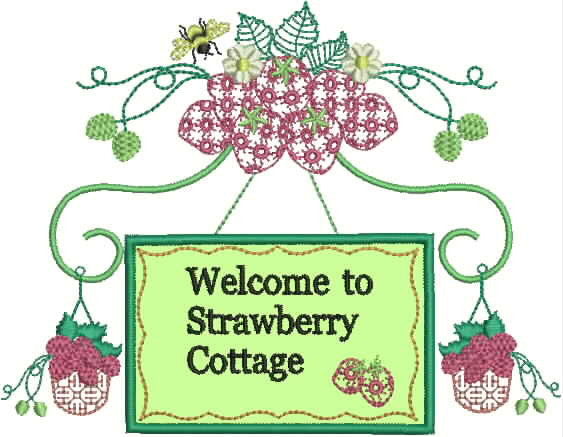 Strawberry Cottage Set