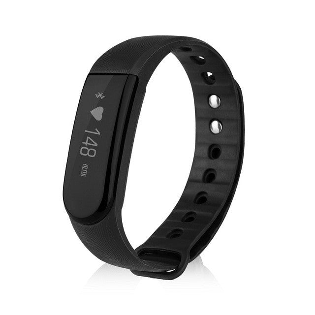Diggro ID101 OLED Smart Bracelet Bluetooth Wristband IP67 Waterproof Pedometer Calorie Heart Rate Call Reminder Remote Control