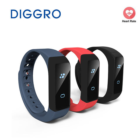 DIGGRO i5 Plus OLED Smart Wristband Pedometer Traker Calorie Health Sleep Monitor Bracelet Bluetooth 4.0 Watch For Android IOS