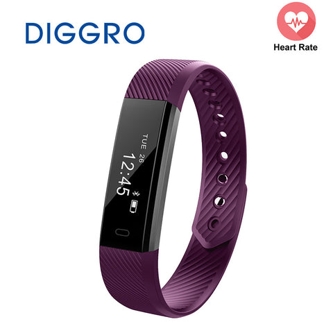 ID115 Smart Band Bracelet Step Counter Fitness SmartBand Alarm Clock Vibration Wristband pk ID107 fit bit miband2 Watch Heart