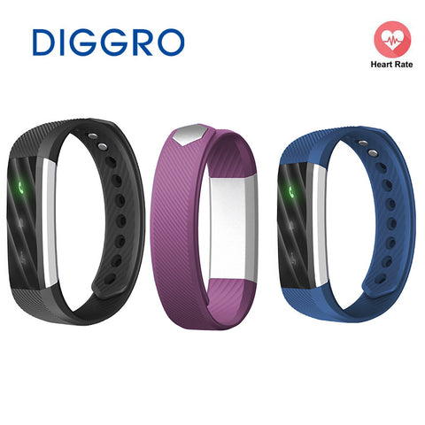 Diggro ID115 Lite Sport Smart Bracelet For Android IOS Sleep Monitor Bluetooth Wristband Pedometer Fitness Tracker Smart Band