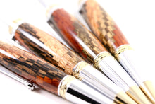 Premium Wooden Writer's Pen, Exotic Spiral (335)