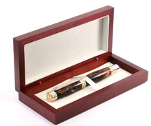 Limited Collector Fountain Pen, Swirled Alumilite (385)
