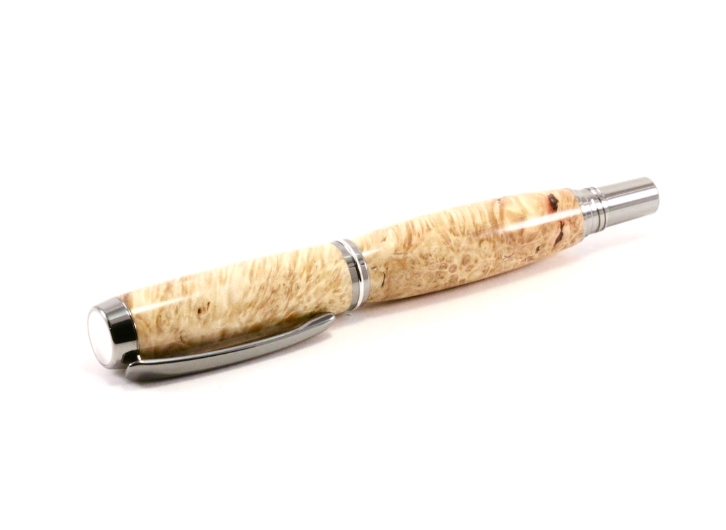 Simple burl wood pen