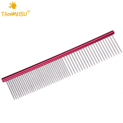 Stainless Steel Lightweight Dog Comb