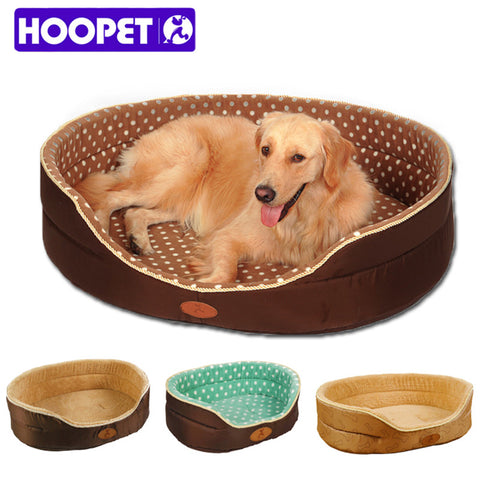 Double-Sided Fleece Pet Bed with Free Toy