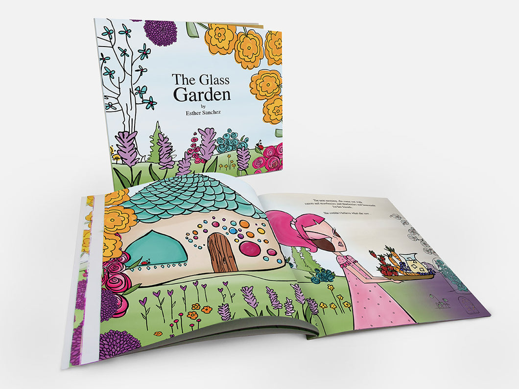 The Glass Garden children's book by Esther Sanchez