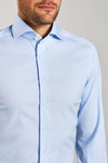 Slim Fit Stretch Hellblau