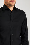 Slim Fit Stretch Schwarz