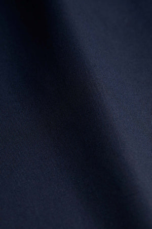 Classic Fit Twill Navy