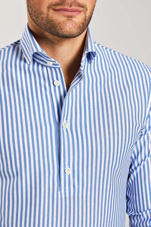 Polo Classic Fit Blue Stripe