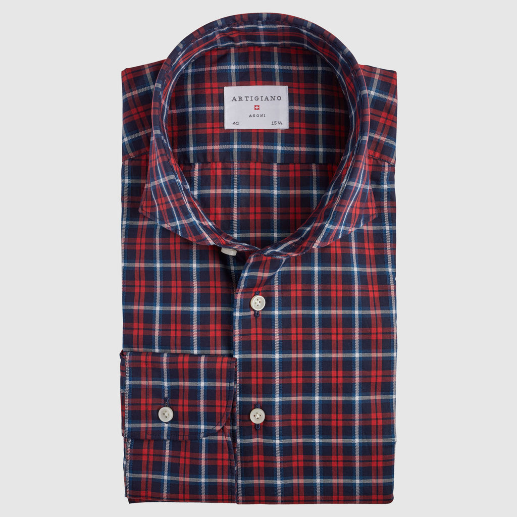 Classic Fit Red Check