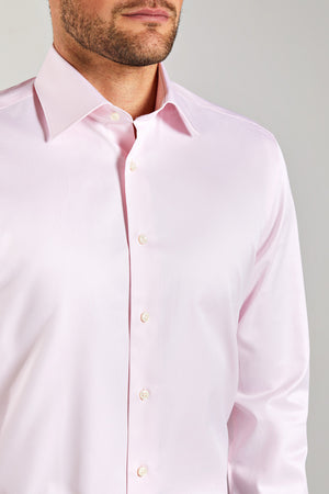 Slim Fit Pink Oxford