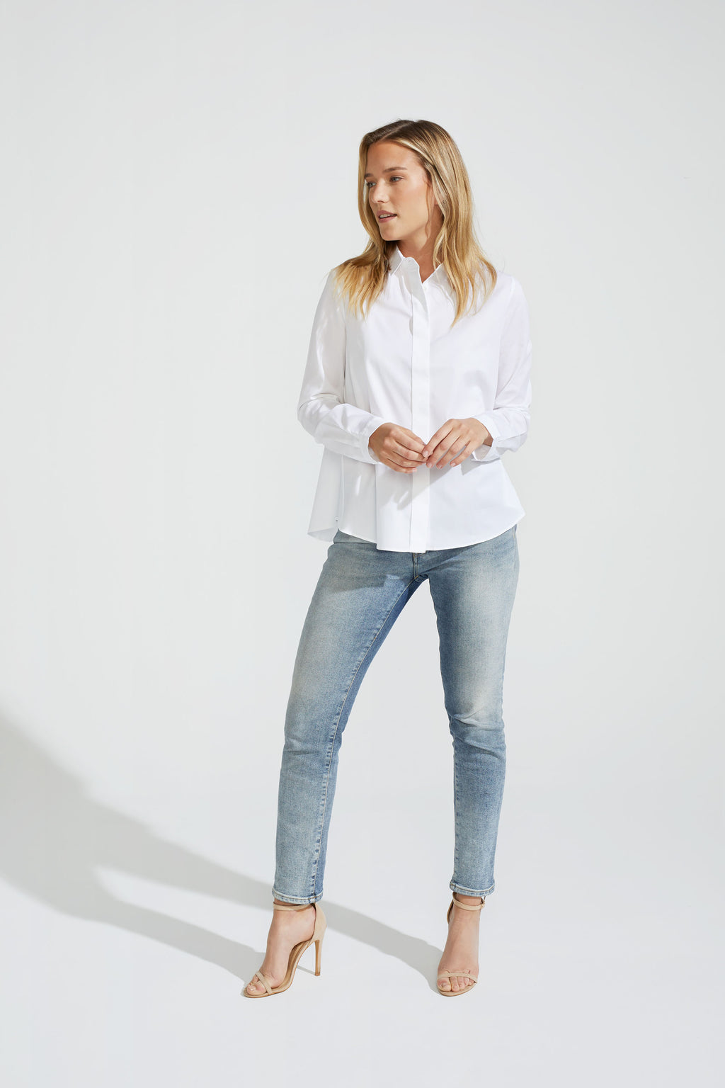A-shape Cotton Blouse