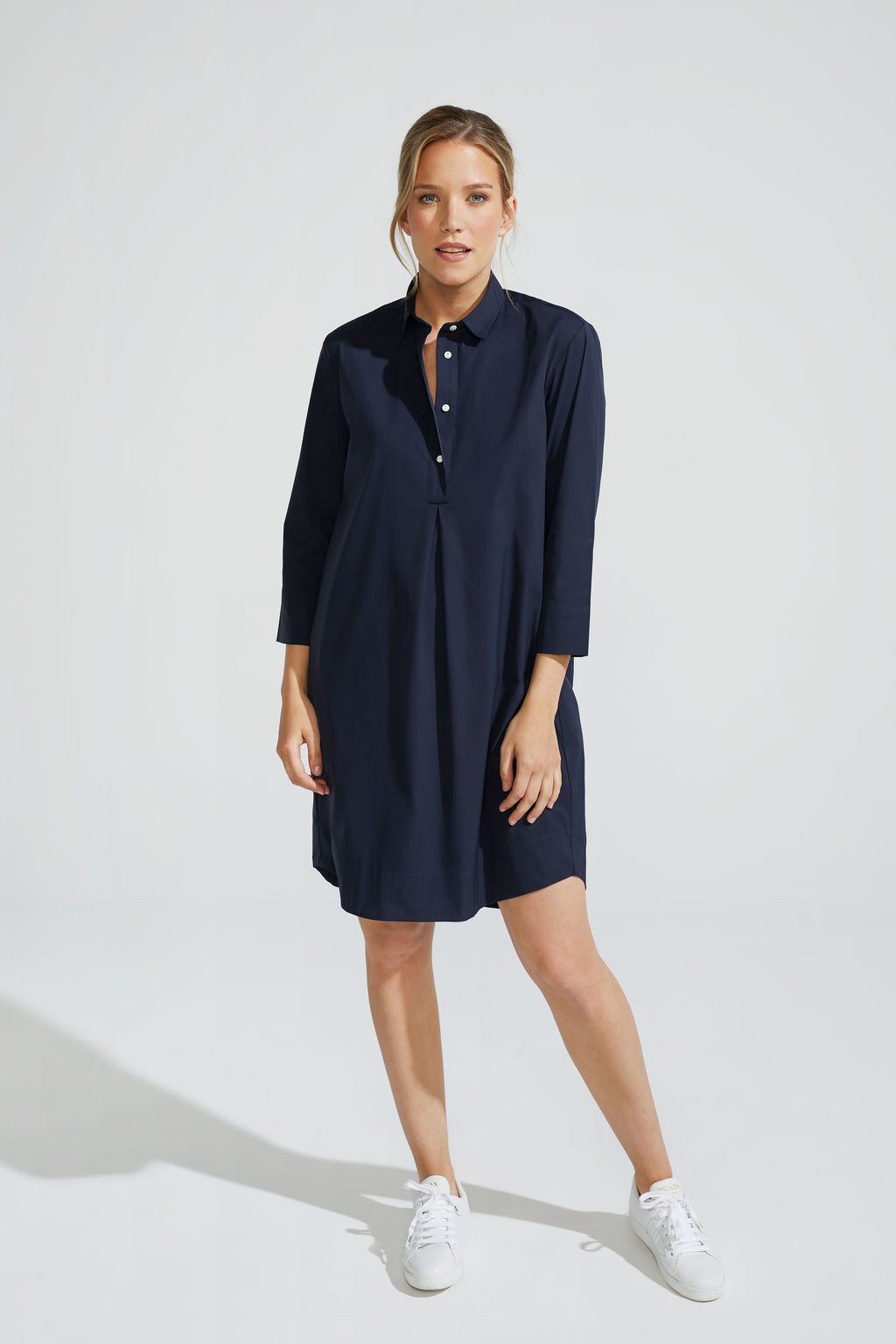 Navy Stretch Dress