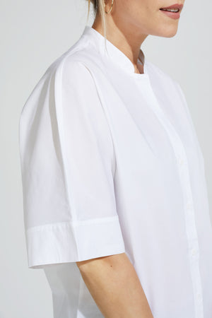 Short Sleeve Blouse Cotton