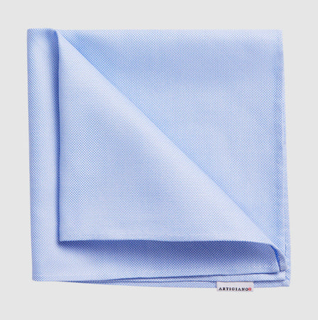 Pocket Square Light Blue