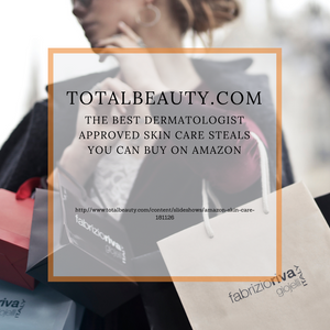 Dr ILYAS talks to Total Beauty about Skin care steals on Amazon!