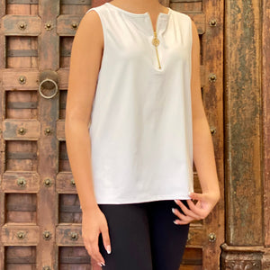 Open image in slideshow, UPF Sleeveless Top - AMBERNOON