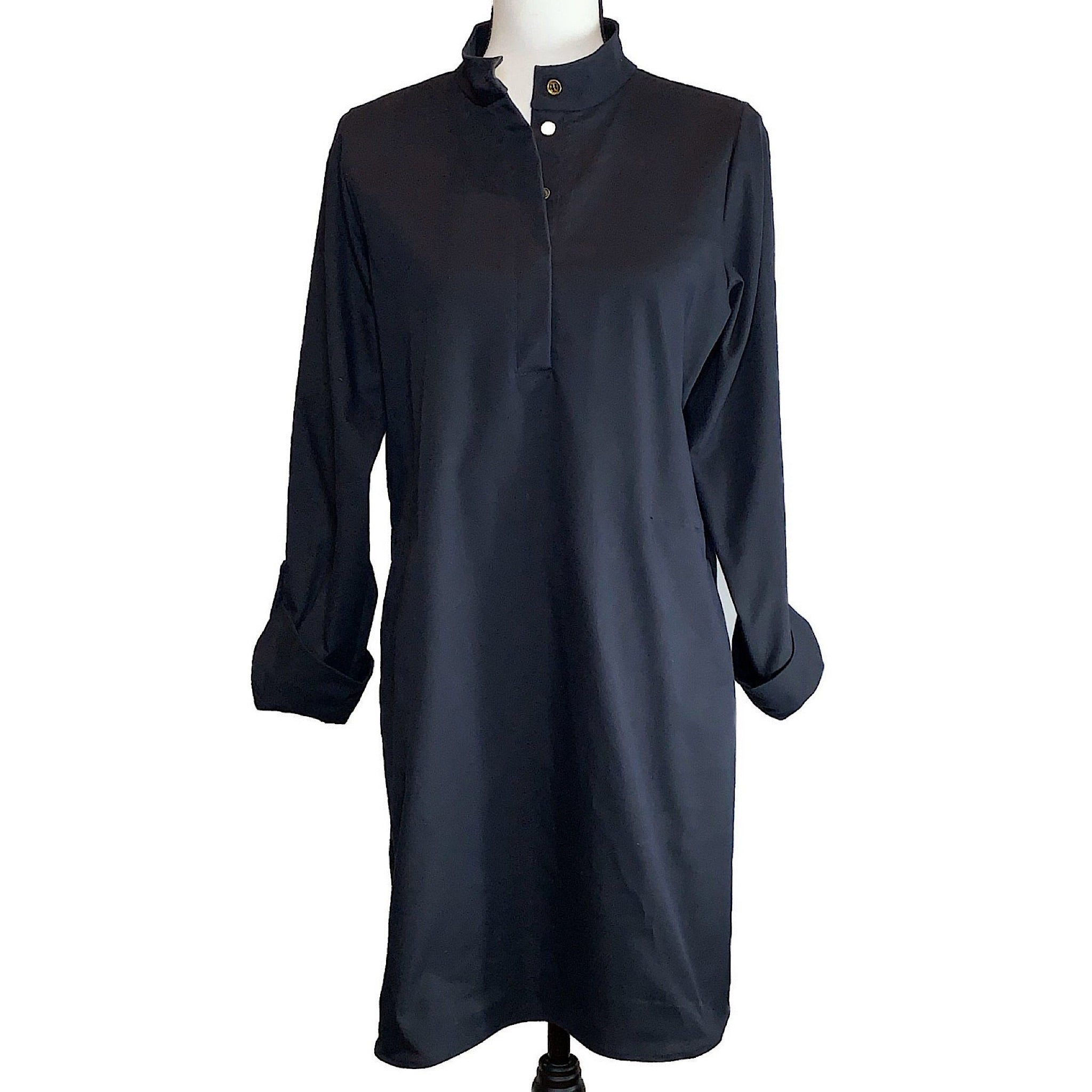 UPF Tunic Dress in UVWeave with Pockets - AMBERNOON