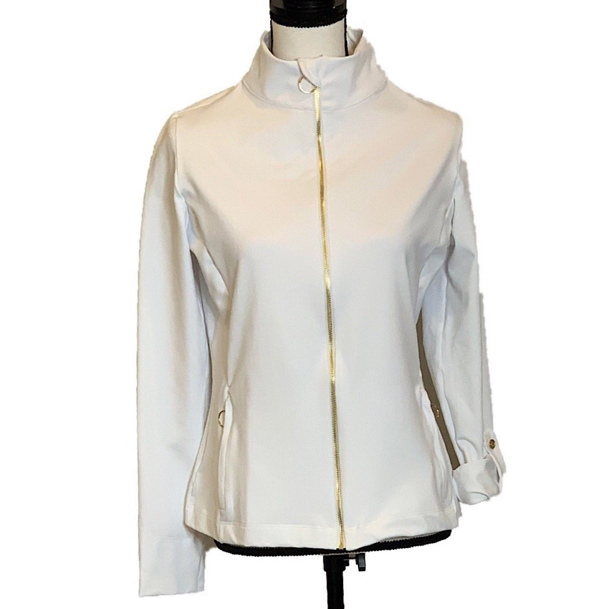 UPF Zip Jacket with Zip Pockets - AMBERNOON