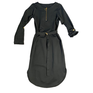 Belted Midi UPF Dress - AMBERNOON