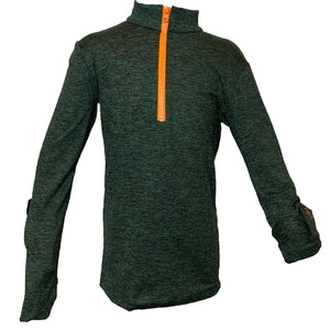 Open image in slideshow, Boys UPF Zip Top - AMBERNOON