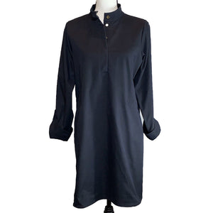 Open image in slideshow, UPF Tunic Dress in UVWeave with Pockets - AMBERNOON