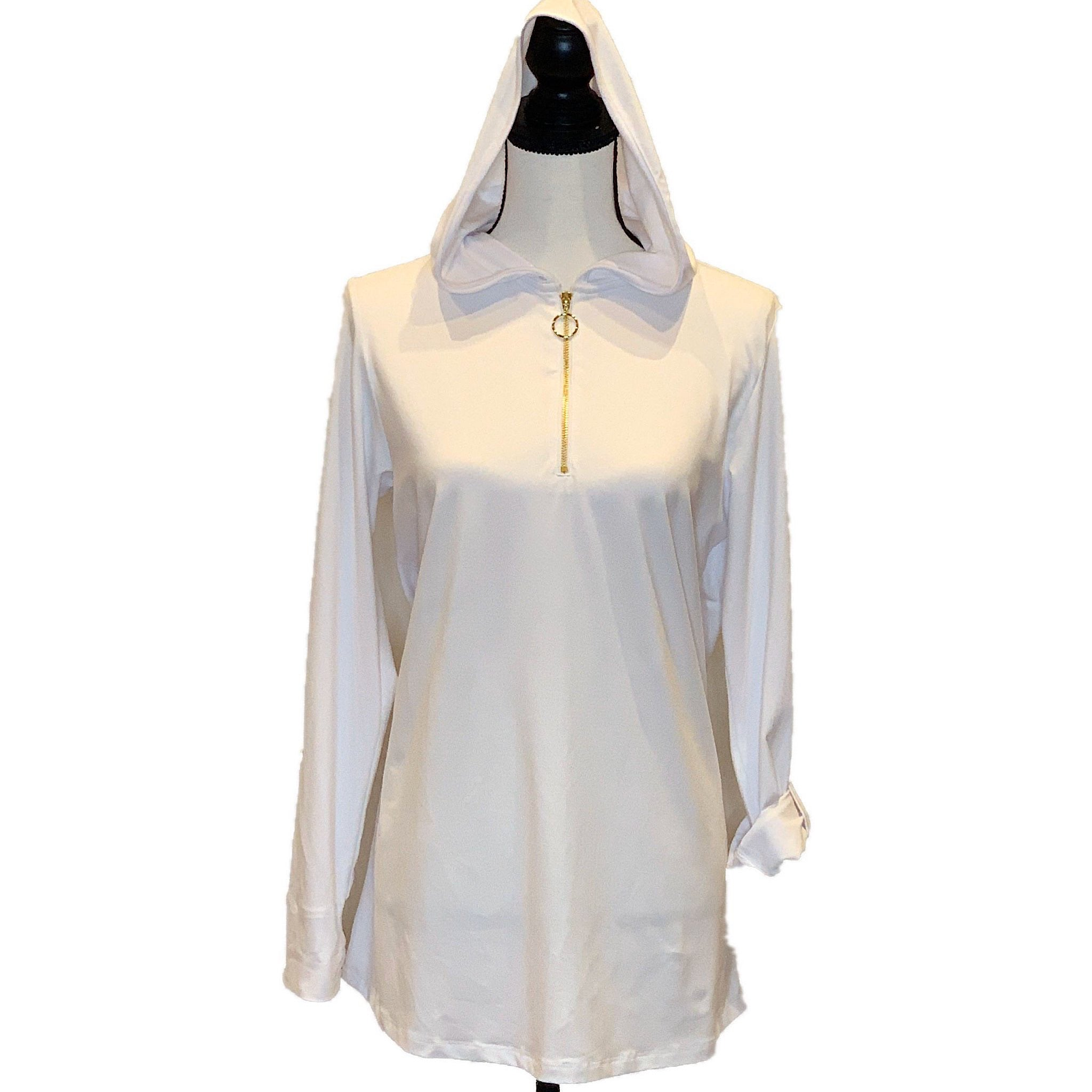 Sarah Hooded Coverup
