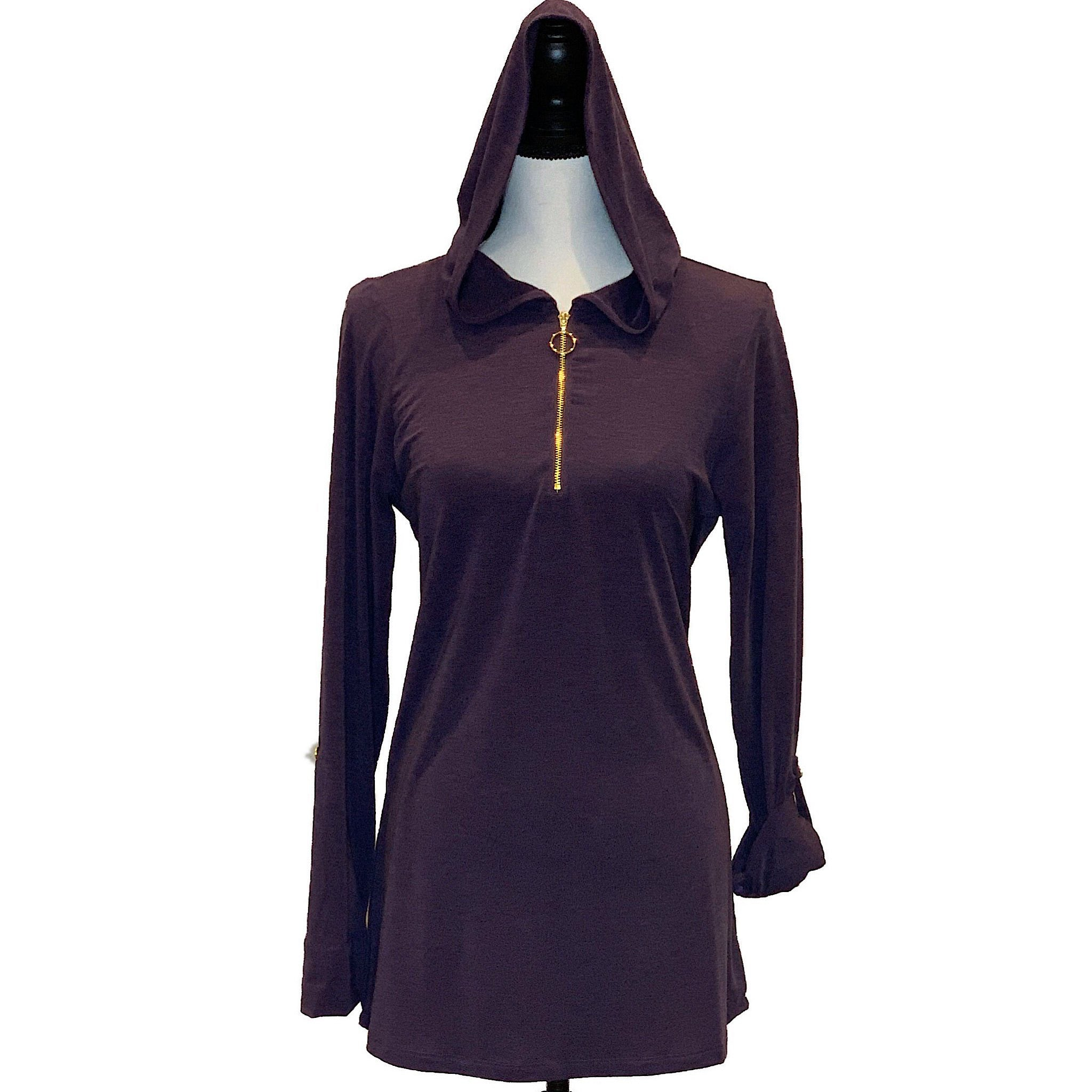 UPF Hooded Coverup - AMBERNOON