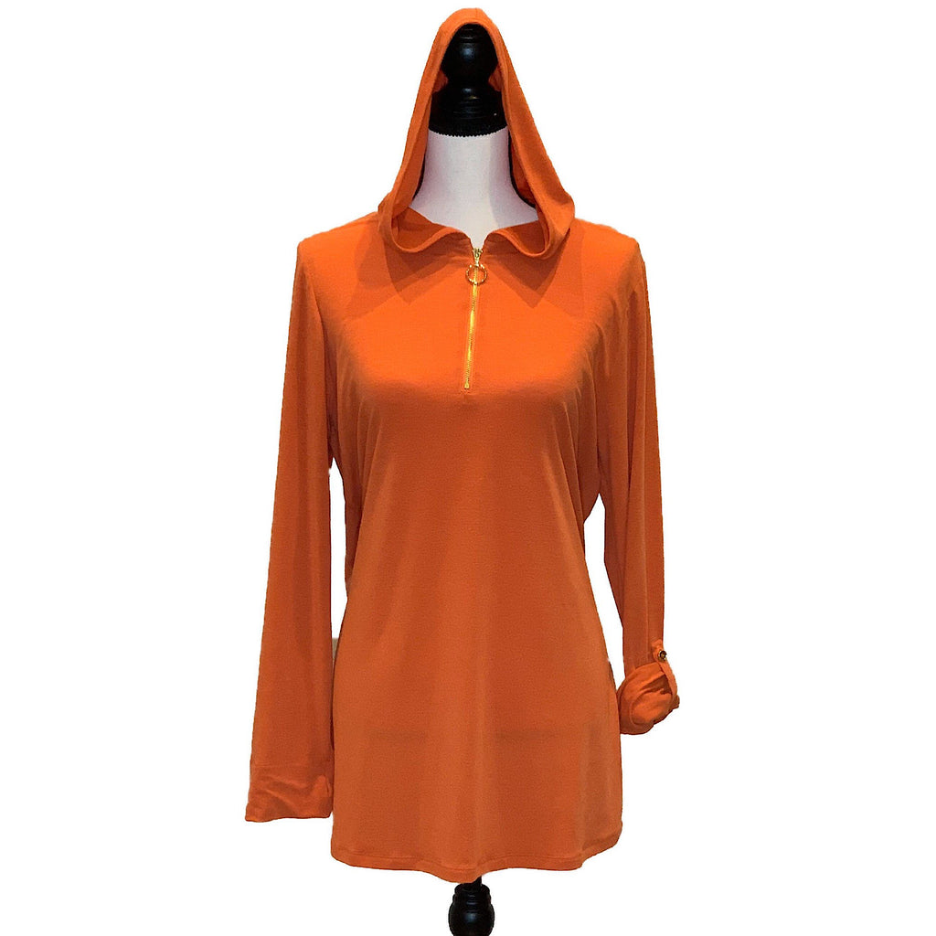 Sarah Hooded Coverup - AMBERNOON