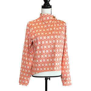 Open image in slideshow, Button mock neck UPF wrap - AMBERNOON