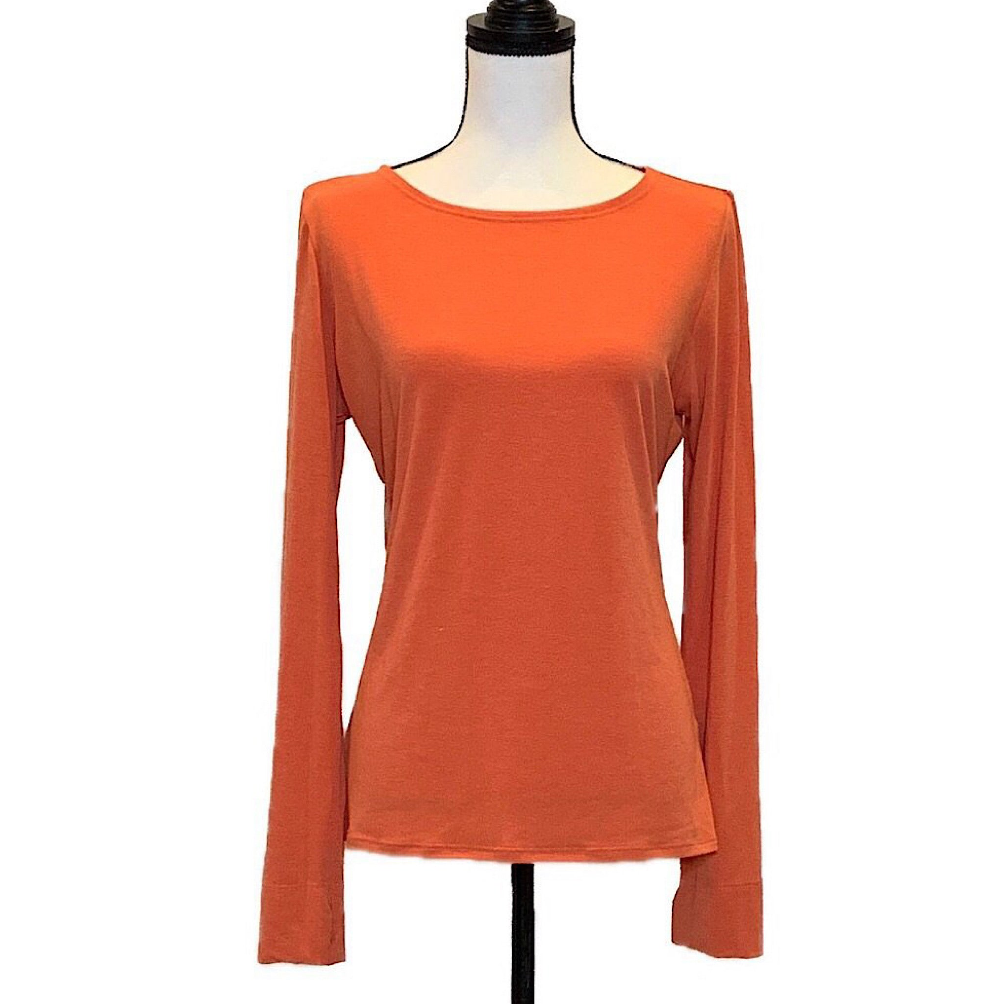 Womens UPF Crewneck Top - AMBERNOON