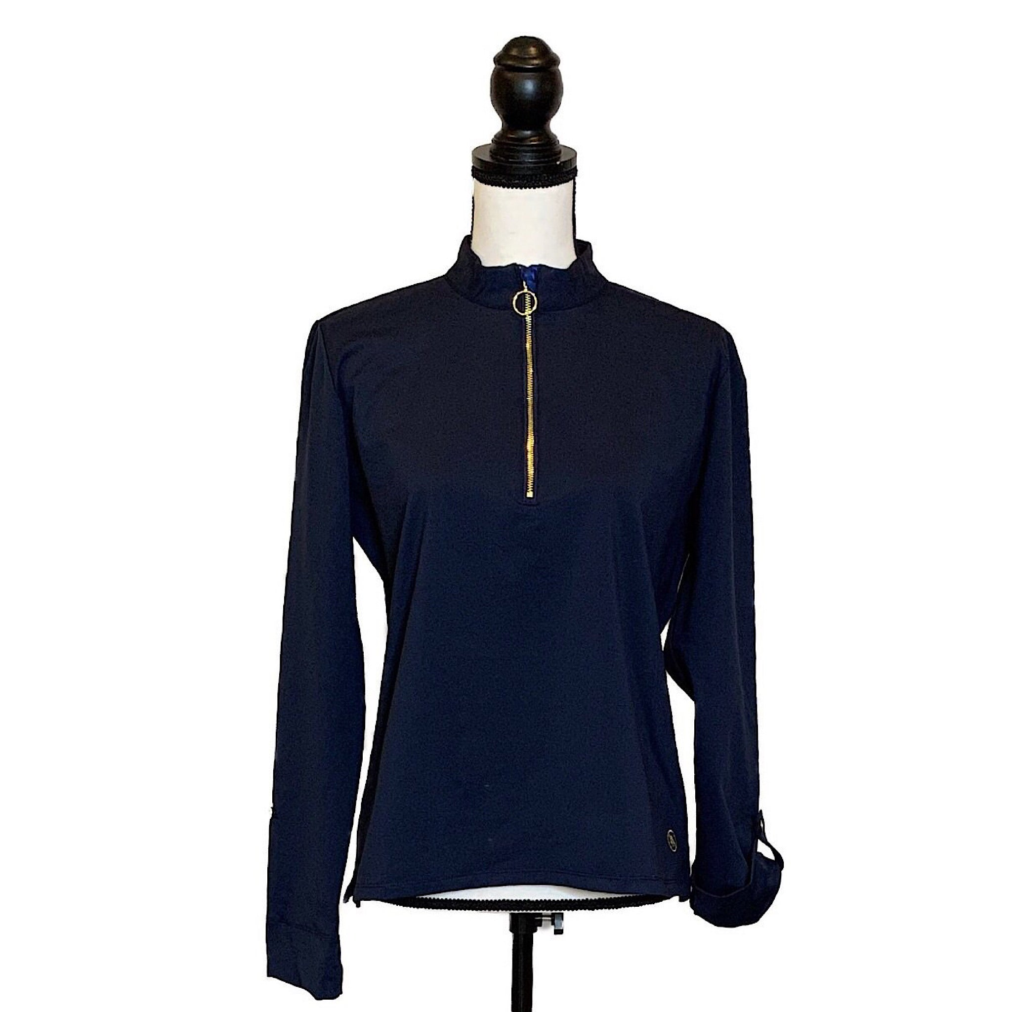 UPF Mock Half Zip Tunic - AMBERNOON