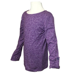 Open image in slideshow, Girls UPF Crewneck Shirt - AMBERNOON