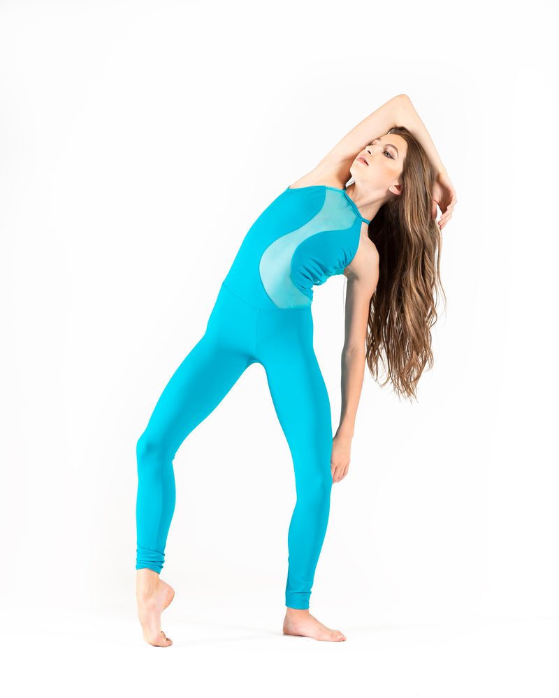 Alexa Jumpsuit, the perfect unitard for stage, convention, & photoshoots. Feel motivated to move and inspired in your Opra Dancewear!
